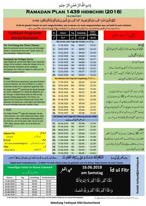 7 Anregungen für den Monat Ramadan