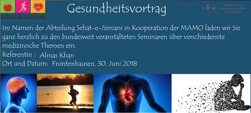 Neue Gesundheitsseminare | Thema: psychische Gesundheit